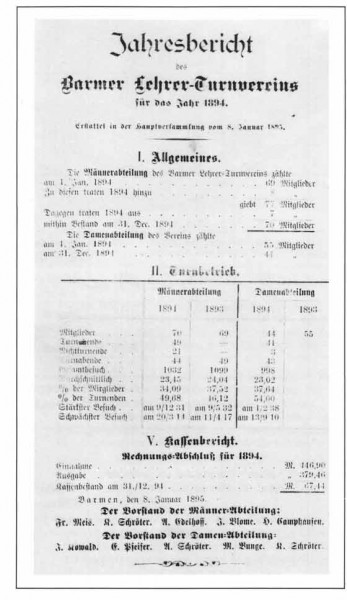 Erster Jahresbericht für das Jahr 1894 (1893)