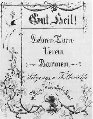 Erstes Protokollbuch (1883)